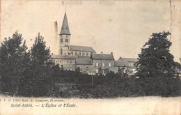 Florennes Saint-Aubin   L'Eglise Et L'Ecole   I 3451 - Florennes