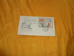 ENVELOPPE UNIQUEMENT DE 1957. / TCHECOSLOVAQUIE. CELOSTATNI VYSTAVA MLADYCH FILATELISTU PARDUBICE..TRUTNOV. / CACHETS + - Czechoslovakia