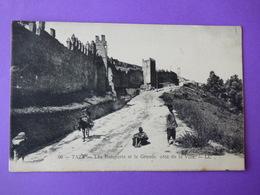 TAZA-  Les  Remparts Et La Grande Côte De La Ville - Autres