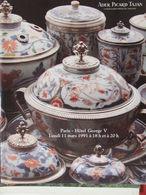 Catalogue De Ventes Ader-Tajan -Objets D'art Et Porcelaines Et Faïences Du XVIIIe - 1991 - Vieux Papiers