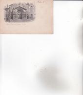 """CPA 13 ARLES ,Portail De L'église.  ( Carte """"pionnière"""".) - Arles"""