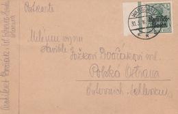 Occupation Allemande En Pologne Carte Warschau 1916 - Besetzungen 1914-18