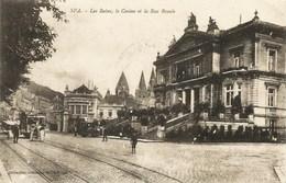 SPA - Les Bains, Le Casino Et La Rue Royale - Tram - Spa