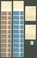 Booklet A67 MNH /2 Pcs/ Sweden 1962 Gustaf VI Adolf CV 7 Eur - Francobolli