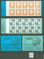 Booklet B17 MNH 2 Pcs Sweden 1971 Nobel Prizers CV 20 Eur - Unclassified