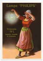 """CPM - CENTENAIRE Editions - RECLAME - 80 - Lampe """" PHILIPS """" - Economie 75% - Lumière Blanche Et éclatante - Reclame"""