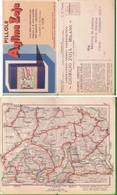 *CARTOLINA:PILLOLE AGLINA TUBERCOLOSI FARMACIA ZOJA CHIMICA MEDICINA SONDRIO 1932 - Pubblicitari