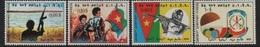 1978 Free Eritrea-Erythrée Libre - Different Subjects (weapon, Flag, Soldiers) Différentes Sujets (armes, Drapeau) ** - Eritrea