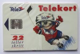 Norway N 6K , SI-7 Chip , Icehockey Sport , Unused In Blister - Norway