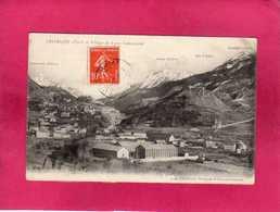 05 Hautes Alpes, Briançon Et Village De Font-Christiane, (Chautard) - Briancon