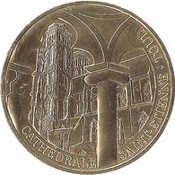 54 MEURTHE ET MOSELLE TOUL CATHÉDRALE SAINT ÉTIENNE MÉDAILLE MONNAIE DE PARIS 2018 JETON MEDALS TOKEN COINS - Monnaie De Paris