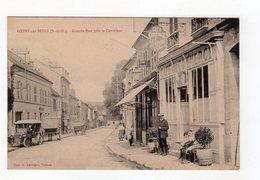 Rosny Sur Seine ( S Et O ) - Grande Rue Près Le Carrefour , Café Du Commerce , Animation - 78 - - Rosny Sur Seine