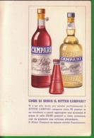 CARTOLINA:COME SI SERVE IL BITTER CAMPARI. - Pubblicitari