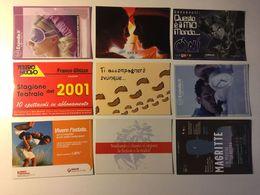 Lotto Cartoline - Pubblicitarie - Ragazza Girl  Teatro Manga Banca - Cartoline