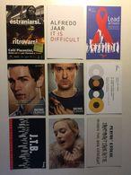 Lotto Cartoline - Pubblicitarie - Aids Ragazzo Ragazza Girl Teatro Etc - Cartoline