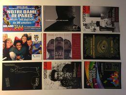 Lotto Cartoline - Pubblicitarie - Teatro Teather Notre Dame De Paris Erasmus Video Games Pc Etc - Cartoline