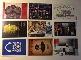 Lotto Cartoline - Pubblicitarie - Teatro Teather Musica Erasmus Samsung - Cartoline