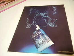 ANCIENNE PUBLICITE CIGARETTE SEITANES BRUNE LEGERE 1980 - Tabac (objets Liés)