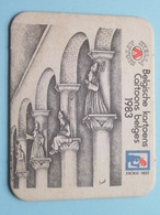 STELLA ARTOIS 1983 Belgische Kartoens - Cartoons Belges KNOKKE-HEIST  ( Sous Bock / Coaster / Onderlegger ) - Sous-bocks