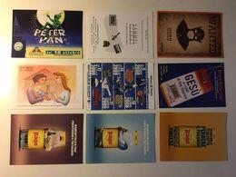 Lotto Cartoline - Pubblicitaria - Teatro Teather Peter Pan Mamam Mom Succo Di Frutta - Cartoline