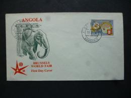 ANGOLA   FDC BRUSSELS BUSINESS FAIR 1968 - Angola
