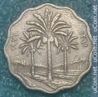 Iraq 5 Fils, 1971 Copper-Nickel /non-magnetic/ - Iraq