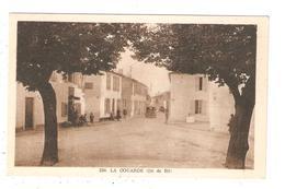 CPA 17 ILE De RE La COUARDE Sur MER La Grande Rue Peu Commune - Ile De Ré