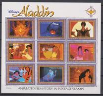 2315  WALT DISNEY - GUYANA  ( ALADDIN Takes Abu And Jasmine For A Ride Enthe Magic Carpet,Thee Streets Of Ali Ababawa ) - Disney