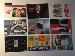 Lotto Cartoline - Pubblicitaria - Cinema Movie Max Factor Telefono Phone Nivea Coccodrillo Crocodail - Cartoline