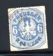 Prusse / N 26 / 6 K Outremer / Oblitéré / Côte 60 € - Prussia