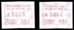 ATM-407- Vignettes D'affranchissement, ATM, Frama - Vignettes D'affranchissement (Frama)