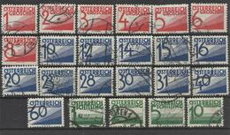 Österreich Porto 153/158 Gest. - Taxe