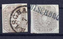Österreich 29 In 2 Farben Gest. - 1850-1918 Impero