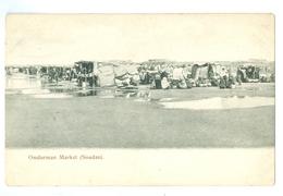 1900's, Africa, Sudan, Omdurman Market. Printed Pc, Unused. - Sudan