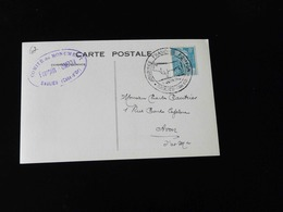 JOURNEE FRANCAISE POMPON  -  SAULIEU  - - Postmark Collection (Covers)