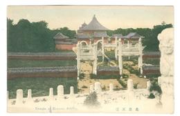 1900's, China, Peking, Temple Of Heaven. Printed Pc, Unused. - China