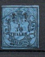 Oldenbourg / N 2 / 1/30  T  Bleu /  Oblitéré / Côte 30 € - Oldenburg