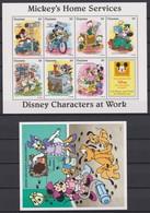 2317  WALT DISNEY - GUYANA ( DISNEY Characters At Work ) Micky's Home Services . - Disney