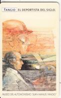 ARGENTINA(chip) - Museo Fangio, Juan Manuel Fangio, Telefonica Telecard(F 158), Chip GEM1a, Tirage 50000, 07/99, Used - Argentina