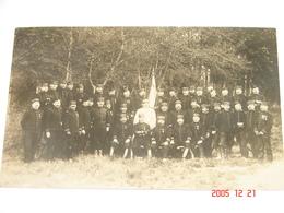 Carte Photo.- Mailly Le Camp (71) - Lieutenant Colonel A.Erulin Et Le 123è Régiment Infanterie  - 1909 - SUP (AG86) - Regiments