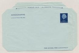 Nederland - 1961 - 30 Cent Juliana En Profil, Luchtpostblad G14 - Ongebruikt - Entiers Postaux