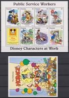 2318  WALT DISNEY - GUYANA ( DISNEY Characters At Work ) Public Service Workers . - Disney