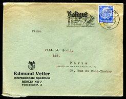 Allemagne - Enveloppe Commerciale De Berlin Pour La France En 1938 - Réf J6 - Briefe U. Dokumente