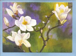Pusan (Busan) South Korea - Flowers By Chae Cholho 2 Scans Villages Du Monde Pour Enfants 14 Rue De Marignan Paris 8e - Corée Du Sud