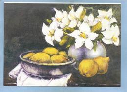 Pusan (Busan) South Korea Flowers Lemons By Hwang Sagwon 2scans Villagesdumonde Pour Enfants 14 Rue De Marignan Paris 8e - Corée Du Sud