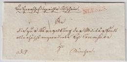 "Bayern, 1828, Klarer L1 In Rot "" NEUSES ""  A645 - Bayern"