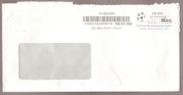 """Privatpost - MaxiMail -- Umschlag - AFS  Fußball Football Soccer Fútbol """" EM 2008"""" Von 3.6.08 - Fußball-Europameisterschaft (UEFA)"""