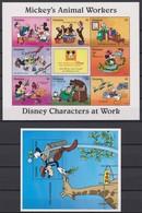 2319  WALT DISNEY - GUYANA ( DISNEY Characters At Work ) Micky's Animal Workers. - Disney