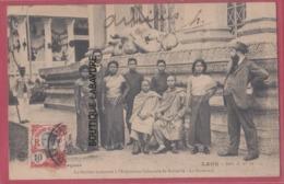 LAOS---La Section Laotienne à L'Exposition Coloniale De Marseille--Le Personnel--animé - Laos