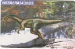 ARGENTINA(chip) - Herrerasaurus, Telefonica Telecard(F 80), Chip GEM1, 09/97, Used - Argentina